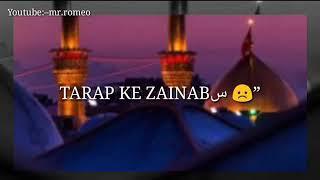 Saba jo aai hai karbala se whats aap status |#whatsaapstatus #status#islamicstatus |mr.romeo