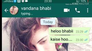 Whatsapp  Sex chat with bhabi and devar