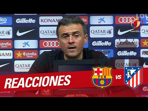 Rueda de prensa de Luis Enrique tras el FC Barcelona vs Atlético de Madrid (1-1)