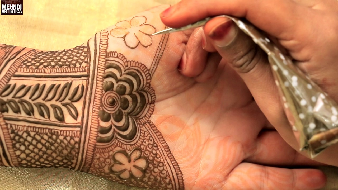 2nd Requested Henna Mehndi Designs For Front Side Beautiful Traditional Bridal Hands Mehendi Art
