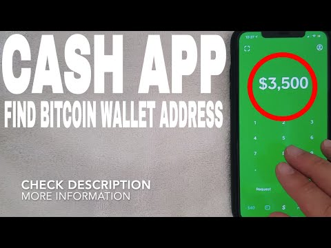✅  How To Find Cash App Bitcoin Wallet Address 🔴