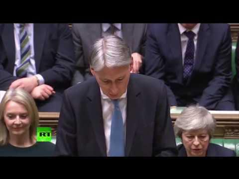 LIVE: Chancellor Philip Hammond unveils his #SpringStatement