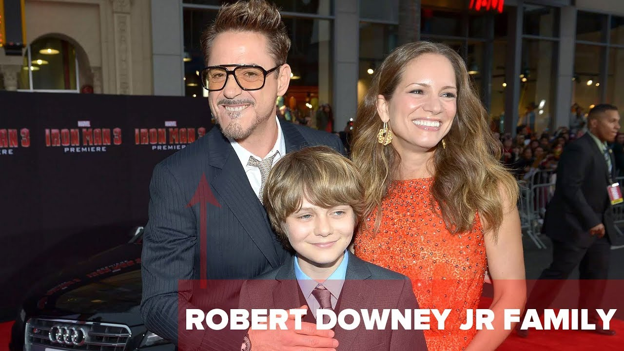 Wife of robert downey jr