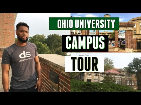 College Tour Vlog | Ohio University