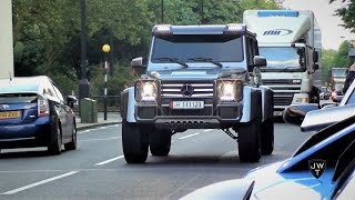 MONSTROUS Modified Mercedes-Benz G Wagon 4x4 INVASION in London!!