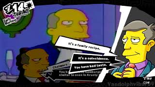 Steamed Hams but it\'s a Persona 5 Confidant