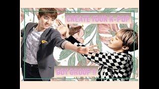 Erstellen Sie Ihre k-pop-boy-Band