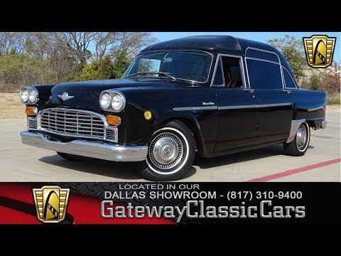 1970 Checker Marathon Medicar #855 Gateway Classic Cars of Dallas