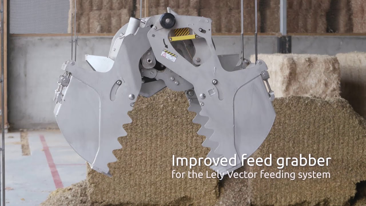 New feed grabber for the Lely Vector feeding system