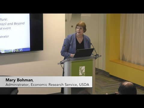Mary Bohman, Administrator, Economic Research Service, USDA
