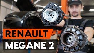 Cómo cambiar copelas del amortiguador delantero en RENAULT MEGANE 2 (LM) [INSTRUCCIÓN AUTODOC]
