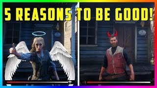 5 Reasons Why Being A Good, Honorable Outlaw Is BETTER In Red Dead Online & Get MAX Honor Rank Fast!