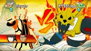 Naruto Shippuden: Ultimate Ninja Storm Revolution - Bijuu Naruto Vs Kyuubi Mode Boss Battle