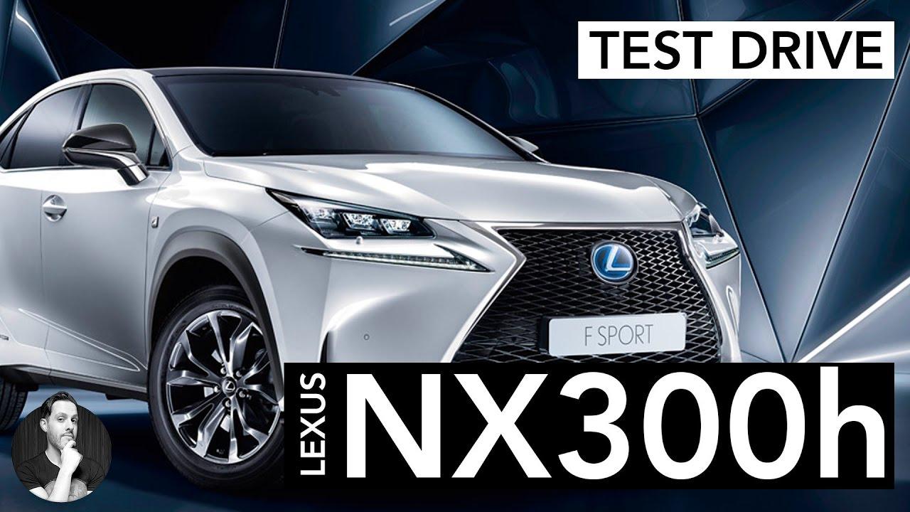 lexus nx 300h | suv ibrido e sportivo | test drive - youtube