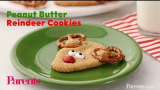 Recipe: Peanut Butter Reindeer Cookies | Parents