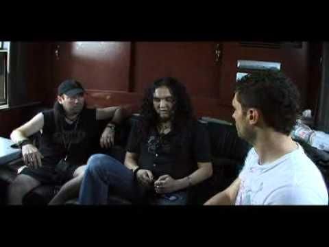DragonForce Backstage