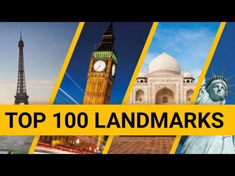 Top 100 LANDMARKS OF THE WORLD - 100 Famous Landmarks For Kids