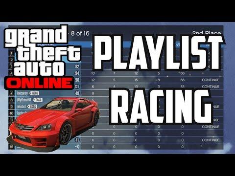 GTA 5 - Thoughts On Playlist Racing! @Rockstargames