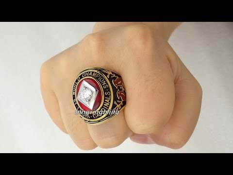 1934 St. Louis Cardinals World Series Rings Replica.