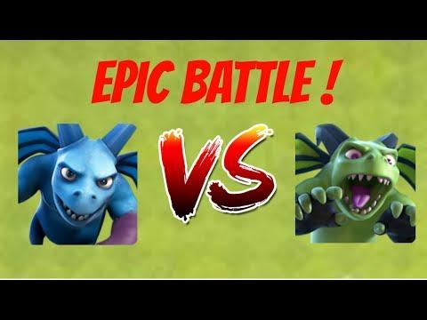 Minion Vs Beta Minion L Epic One On One Battle | Clash Of Clans