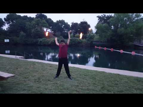 Fire Twirler at Solms Park