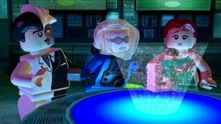 LEGO Batman 100% Guide - Villains Episode 1-2 - On the Rocks (All Minikits/Red Brick/Hostage)