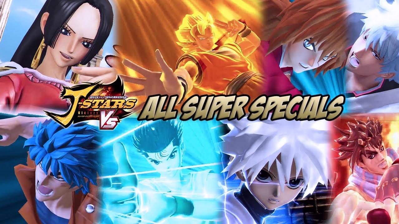 J-STARS Victory Vs - All Super Specials/Ultimate Attacks
