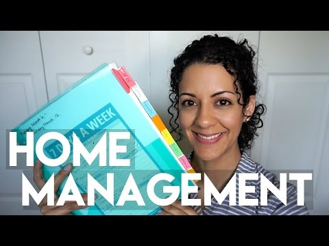 Home Management Folder: Staying Organized