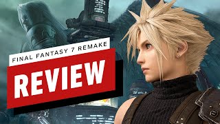 Final Fantasy 7 Remake Review (Video Game Video Review)