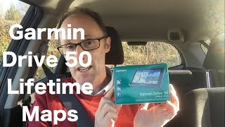 Garmin Drive 50 Lifetime Maps. UK and Ire