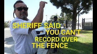 """""""SHERIFF SAID U CANT DO THAT"""" Joint Water Pollution Plant, Carson CA, 1st Amendment Audit"""