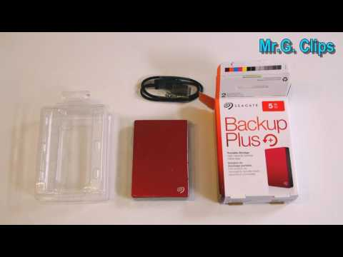 Seagate - Backup Plus 5TB Portable Mobile Hard Drive