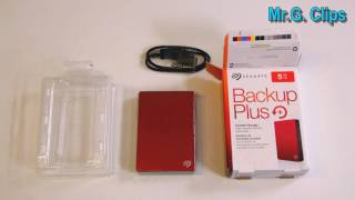 Seagate - Backup Plus 5TB Portable Mobile Hard Drive