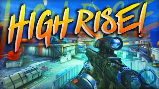 "*NEW* Advanced Warfare ""HIGHRISE"" Gameplay - BEASTING! - (Call of Duty AW Skyrise DLC)"
