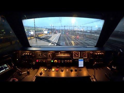 Train Driver's POV Amersfoort - Amsterdam Zuid ICM ZO ONTSTAAT VERTRAGING naar de wc 2018