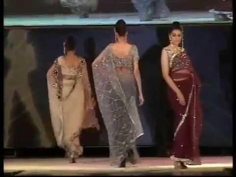 b4acd9634ae Saree Sequence Fashion Show - Fashion Night   Pulse 2010