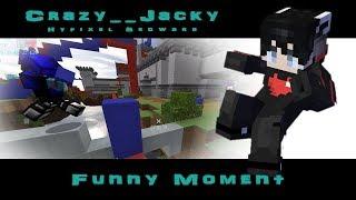 C.J.Minecraft Hypixel Bedwars 床戰日常 #30 Funny Moment // 搞笑精華