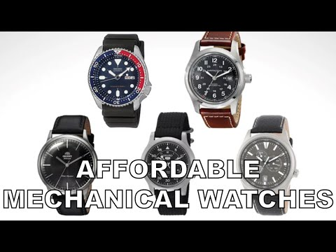 Top 5 Affordable Mechanical Watches For EDC