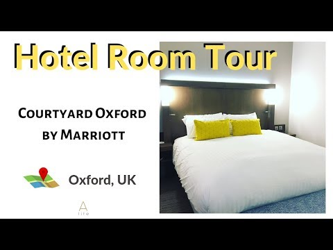 Courtyard Oxford South By Marriott Hotel | Hotel Room Tour | Oxford, UK