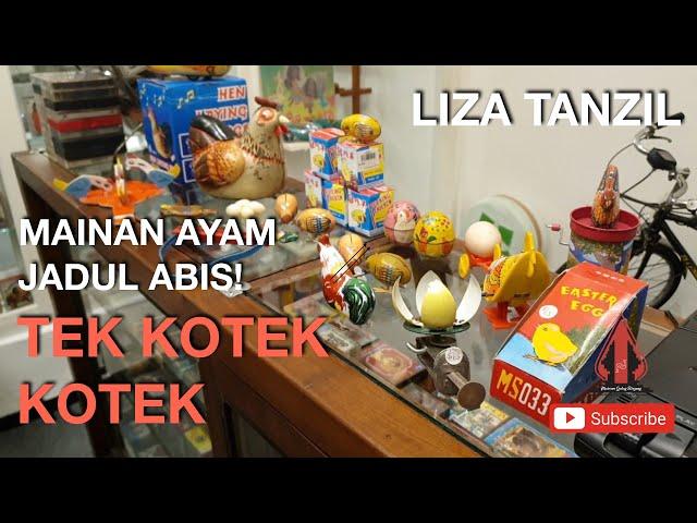 Mainan Ayam Ayaman LEGENDA| Tek Kotek Kotek - Liza Tanzil - Gubug Musik