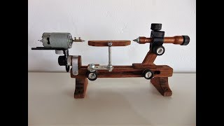 Mini Torno Para Madeira -  Mini Wood Lathe