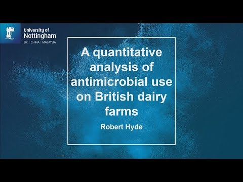 Quantitative analysis of antimicrobial use on British dairy farms