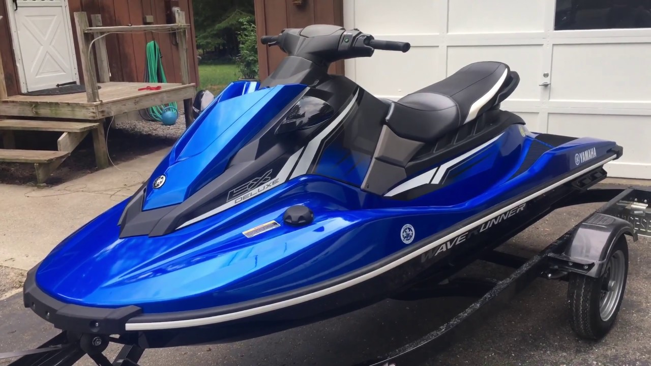 2018 Yamaha EX Deluxe Waverunner - 1 Month Review
