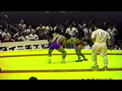 1990 Senior World Championships: 57 kg Ahmet Ak (TUR) vs. Choon-Ho Kim (KOR)