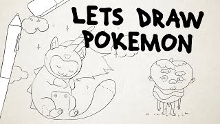 LETS DRAW POKÉMON !