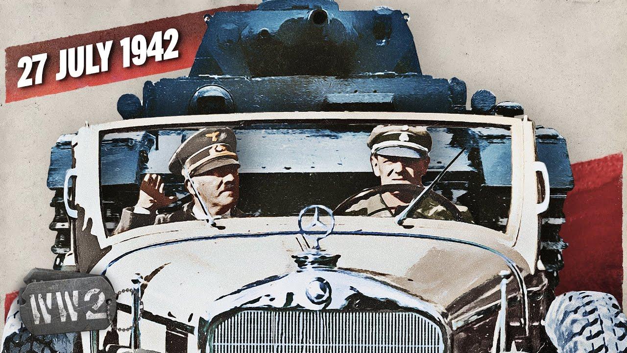 152B - How Hitler Created the World's Worst Traffic Jam - WW2 - July 27, 1942