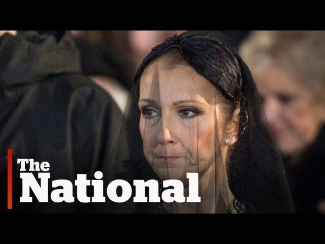 Rene Angelil Funeral: Celine Dion\'s Wedding Flower Girl Ring Bearer ...