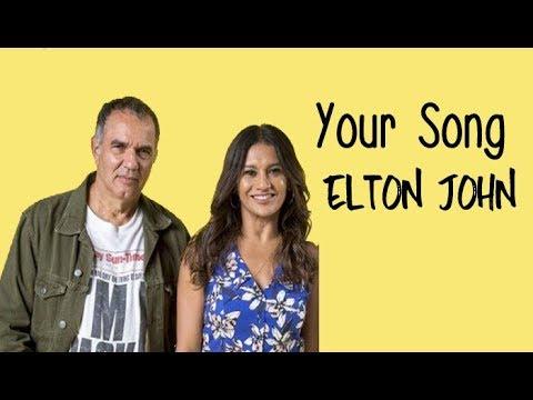 Elton John  Your Song (Tradução) Verão 90 (Lyrics Video) HD.