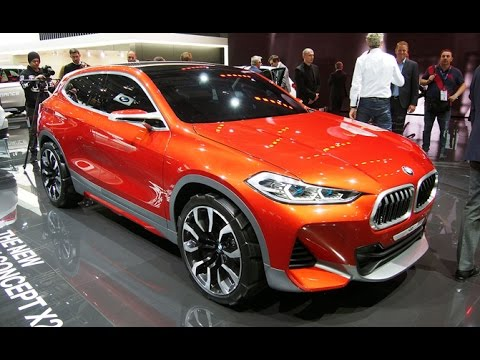 bmw x2 concept first look 2016 paris motor show youtube. Black Bedroom Furniture Sets. Home Design Ideas