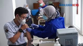 Pelaksanaan Vaksinasi Pelajar SMK Negeri 15 Bandung